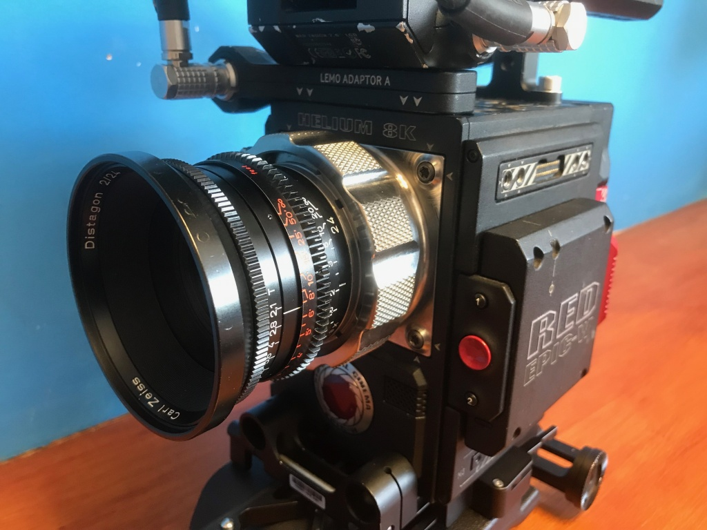 Video Production Lenses ARRI Standard Speed RED Epic W