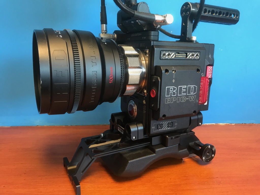 Video Production Lenses RED PRO PRIME RED Epic w