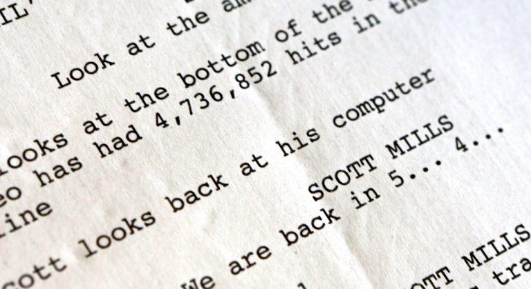 Video Pre-Production Scriptwriting